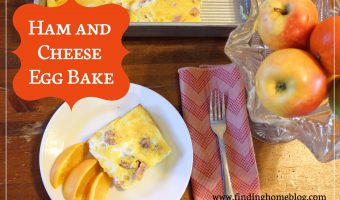 Recipe: Ham and Cheese Egg Bake