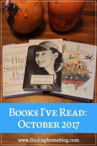 Books I've Read: October 2017