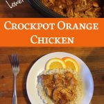 Recipe: Low Sugar Crockpot Orange Chicken