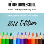 Day In The Life Of Our Homeschool: 2018