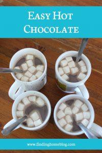 Recipe: Easy Hot Chocolate