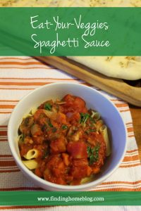 Recipe: Eat-Your-Veggies Spaghetti Sauce