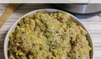 Recipe: Instant Pot Chicken with Veggies and Rice