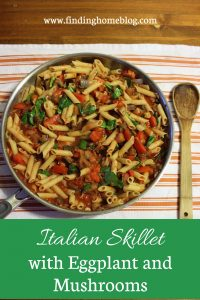 Recipe: Italian Skillet with Eggplant and Mushrooms