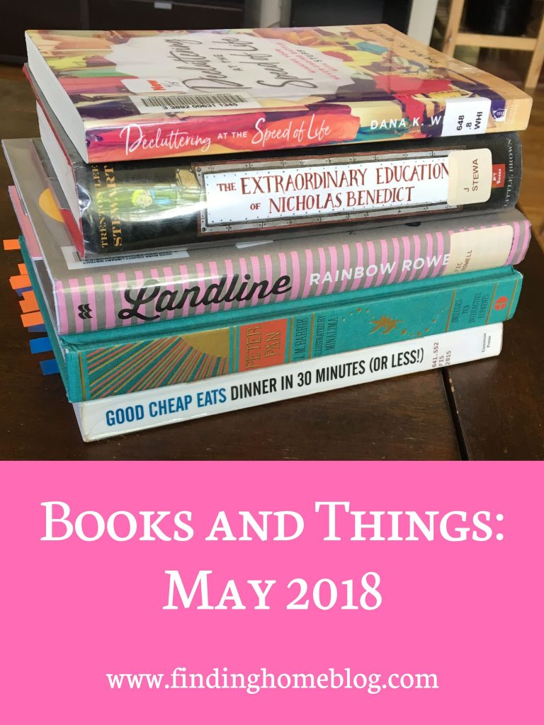 Books And Things: May 2018
