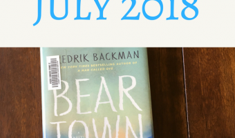 Books And Things: June and July 2018