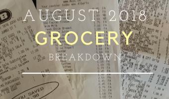 Grocery Breakdown: August 2018