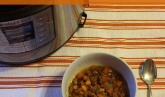 Recipe: Instant Pot Sausage and Bean Soup