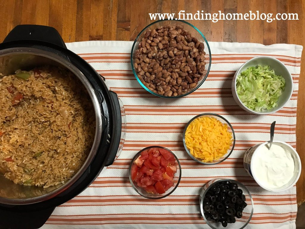 Instant Pot Mexi Rice | Finding Home Blog