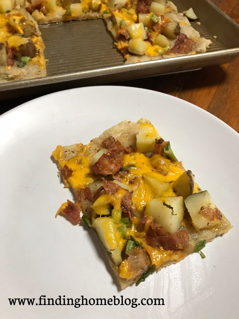 Potato Pizza | Finding Home Blog