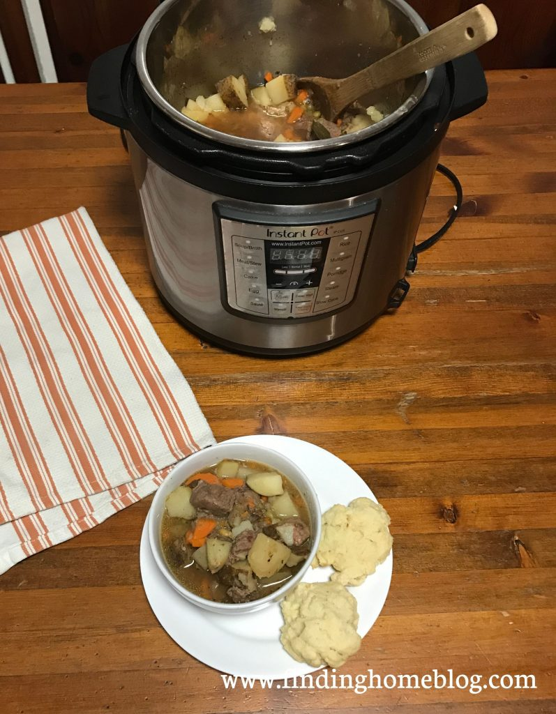 Beef Stew: Instant Pot and Crockpot | Finding Home Blog
