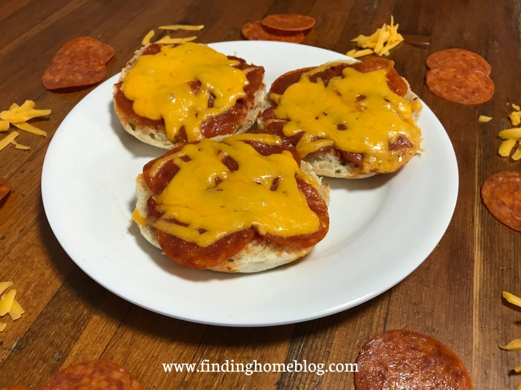 English Muffin Pizzas | Finding Home Blog