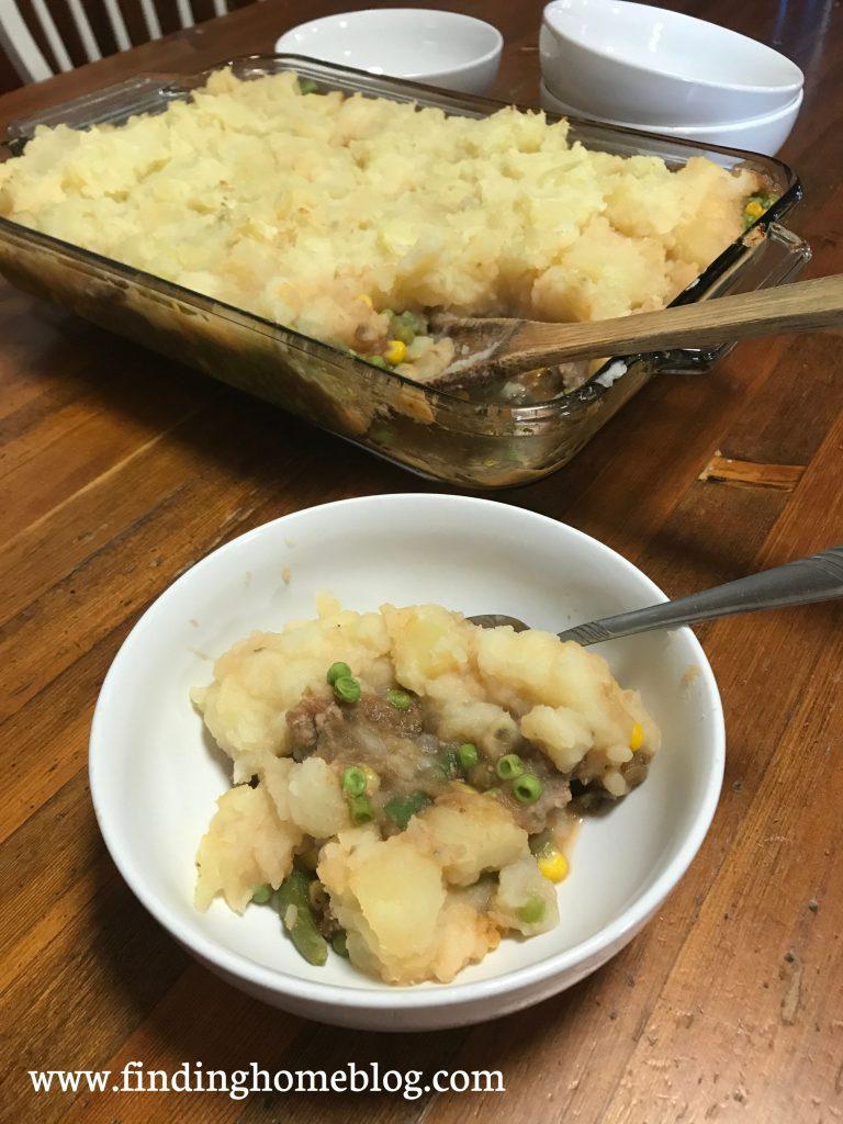 Shepherd's Pie   Finding Home Blog
