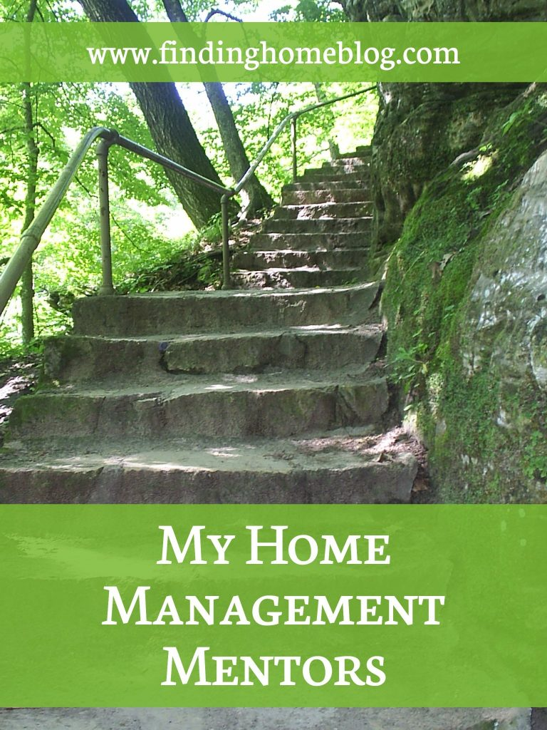 My Home Management Mentors | Finding Home Blog