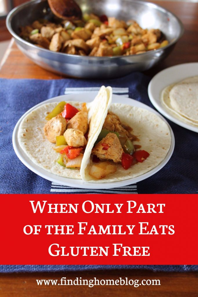 When Only Part of the Family Eats Gluten Free | Finding Home Blog
