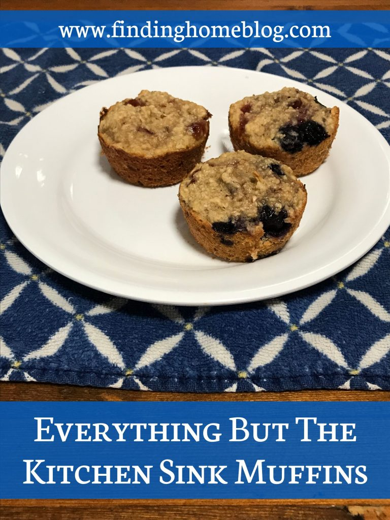 Everything But The Kitchen Sink Muffins | Finding Home Blog
