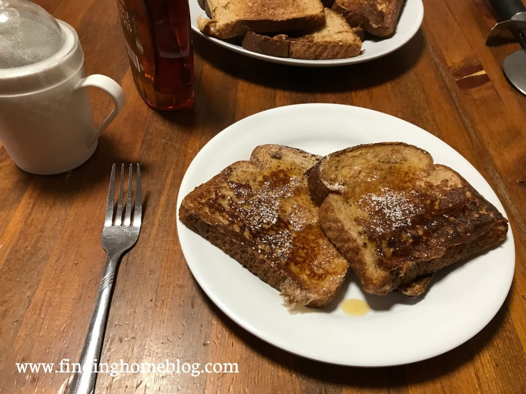 Kid Friendly French Toast | Finding Home Blog