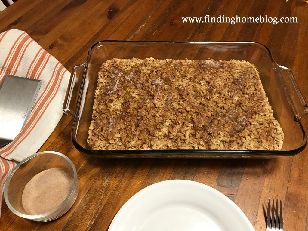 Snickerdoodle Cookie Baked Oatmeal | Finding Home Blog
