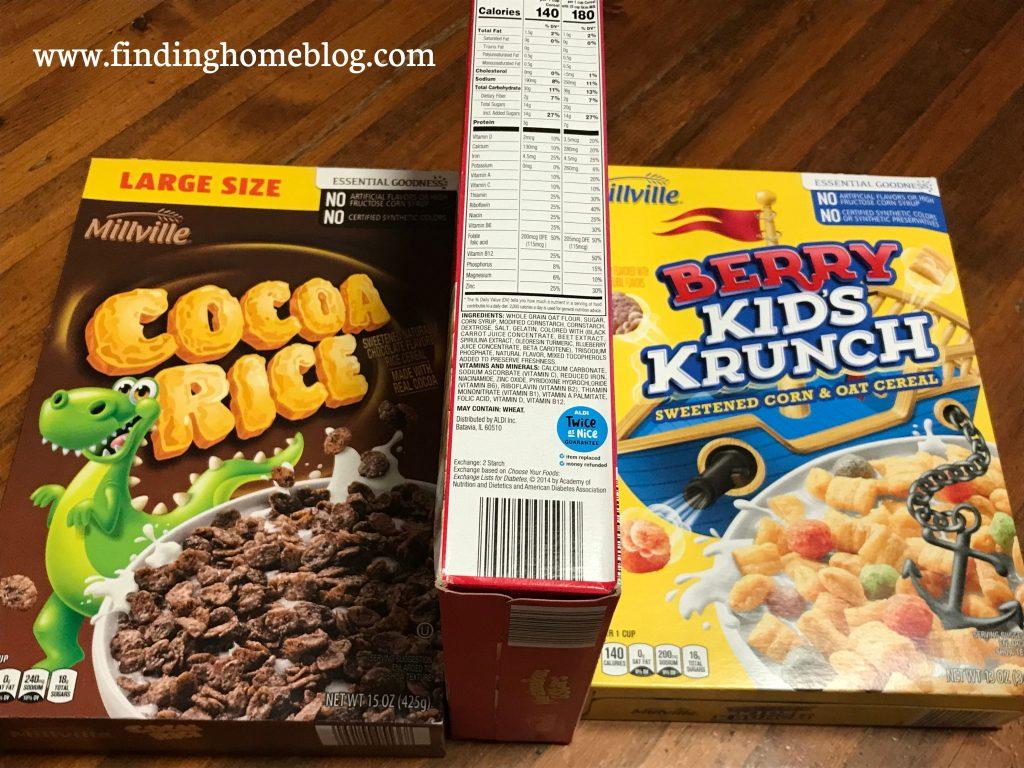 My Favorite Gluten Free Aldi Finds | Finding Home Blog