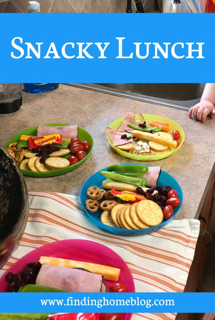 Snacky Lunch | Finding Home Blog