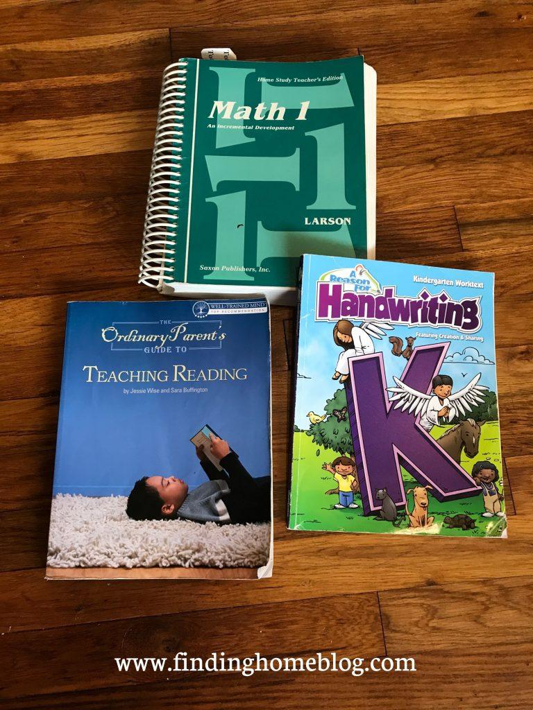 2020-2021 Homeschool Curriculum | Finding Home Blog