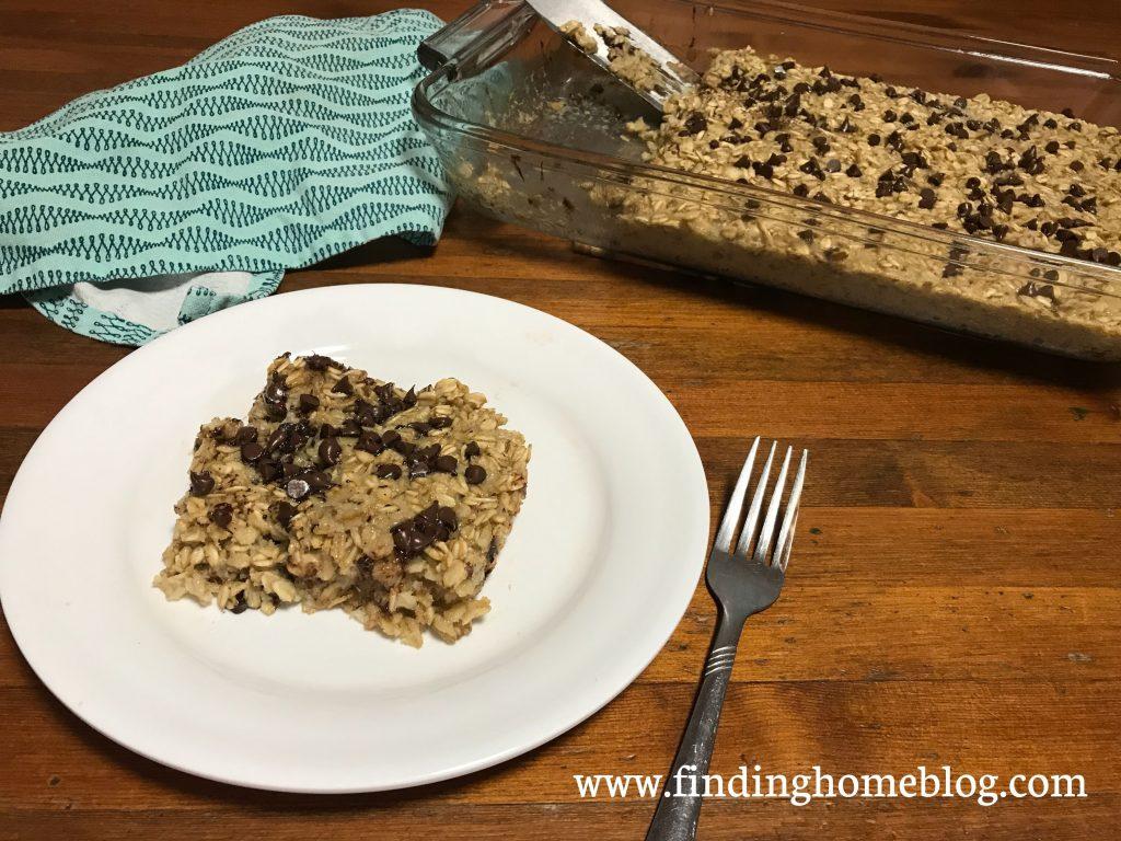 Banana Baked Oatmeal | Finding Home Blog