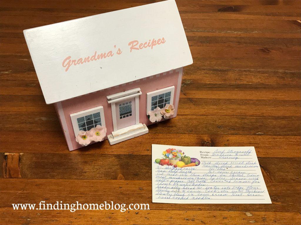 Grandma Winter's Beef Stroganoff | Finding Home Blog
